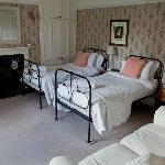 The twin room with en-suite