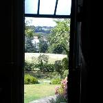The view from the front door out towards Ranmore