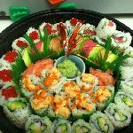 sushi platter to go