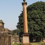 an unusual gravestone