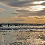 Sunset on Tramore Beach