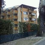 Vista dell'Hotel dall'esterno