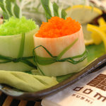 Try best tasting fusion sushi