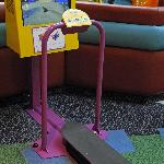 """Play area for older kids - 42"""" to 46"""" tall"""