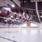 Pro size indoor arena with spectator seating for 500