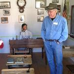 In the historic schoolhouse