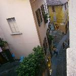 View from room No. 8 - Hotel Pironi - Cannobbio - Oct  3 2011
