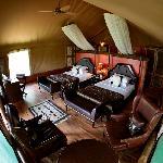 Tent at Chobe Safari Lodge Uganda