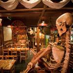 Skull-Duggery - one of the restaurant sections