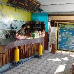 Easy Divers mini bar