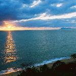 Sunrise from Ocean View Studio