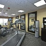 Fitness Center to help you stay active on your travels.