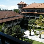 The resort...view from top floor