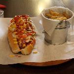 New York Hotdog (Sauerkraut, mustard, ketchup