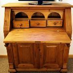 Antique slant-top desk