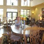 lobby 'great breakfast'