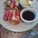 Mom's Strawberry Cream Cheese French Toast