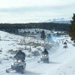 More early season riding, White Mountain's Prospector Tour, February 2012