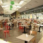 Garden cafe opened Feb 2012
