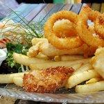 Fish & chip platter