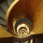 a sensação do hotel - linda escada