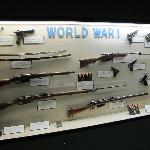 WWI Weapons Display
