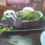 snakehaed fish Thai herbs superb