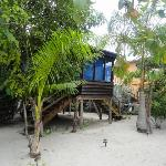 the cabana we stayed in