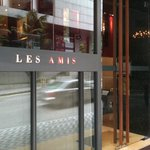 The entrance to Les Amis
