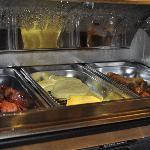 Comfort Suites UCF/Research Park: Breakfast Hot Items