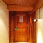 hallway in room