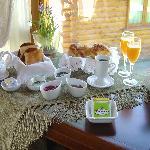 Exquisto desayuno que ofrecemos con room servicea