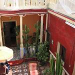 first-floor courtyard