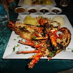 Grilled Lobster at Chez Pastis