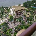 The water adventure area