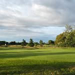 View from behind the 6th green