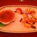 Creme brulee & pistacchio icecream