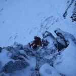 Winter Climbing, Coire an Lochan, Cairngorms