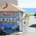 14 Beau Rivage Motel building at 43 East Grand and walk to beach