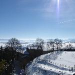Vista dal salotto panoramico