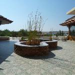 Mangrove Bay Resort  Rechts zum Restaurant