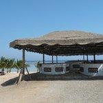 Mangrove Bay Resort Bar an der Tauchbasis