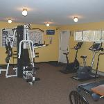Adults may use our fitness room.