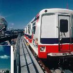 The skytrain is an easy 15 minute walk or 5 minute bus ride from our campground and will talk yo