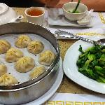 Soup Dumplings and Bok Choy