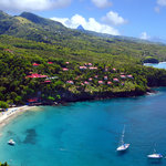 Ti Kaye in Anse Cochon Cove by Air