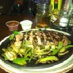 Super yummy steak fajitas!!