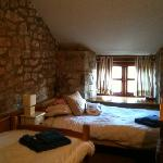 One of the twin bedrooms - The Granary