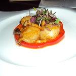 scallops & shimeji