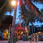 Dive centre and beach restaurant
